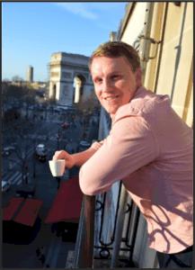 Bryce in Paris