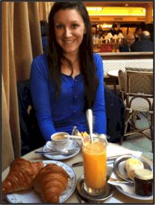 Free Ticket to Paris at Breakfast