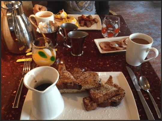 Fairmont Battery Wharf Breakfast