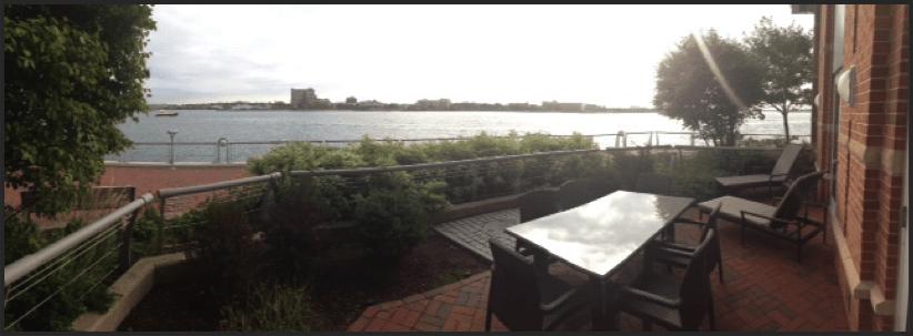Fairmont Battery Wharf Private Terrace