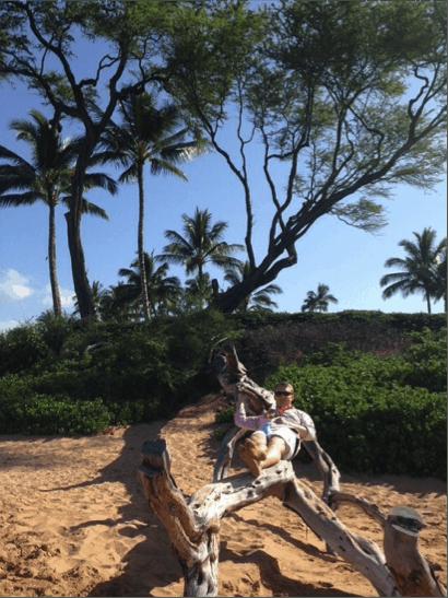 Bryce Hangin' in Maui
