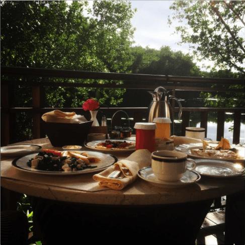 Lunch at the Beautiful Fairmont Mayakyoka