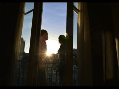 Bryce in Paris Window