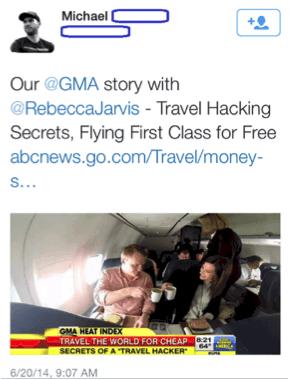 Michaels GFF GMA Twitter Pic