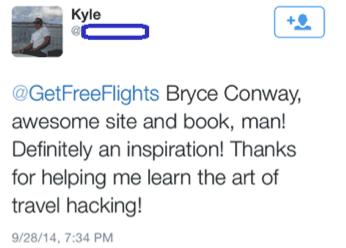 Kyle Saying Thanks to GFF