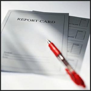 Credit Score Report Card