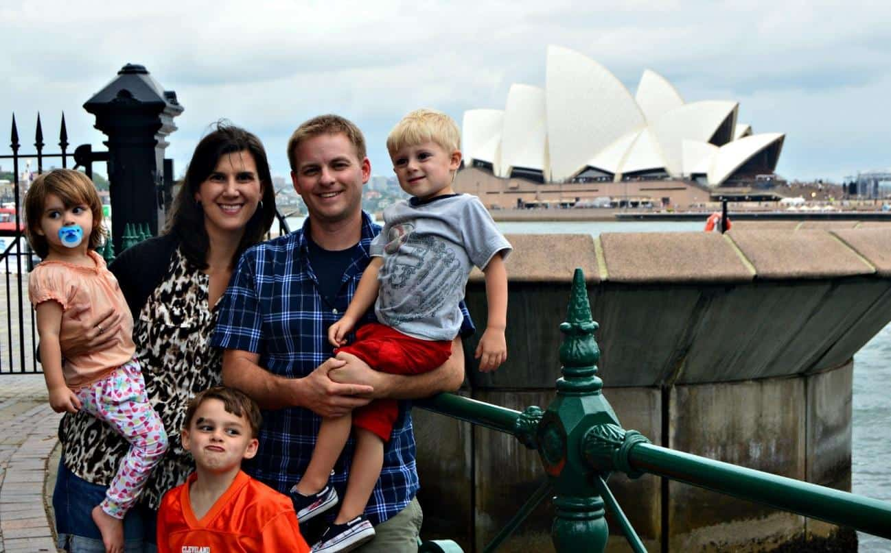 Family Trips to Australia, Florida, and Canada using points and miles