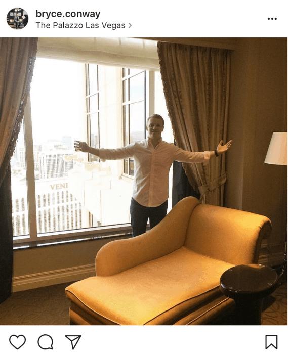 Bryce in Hotel