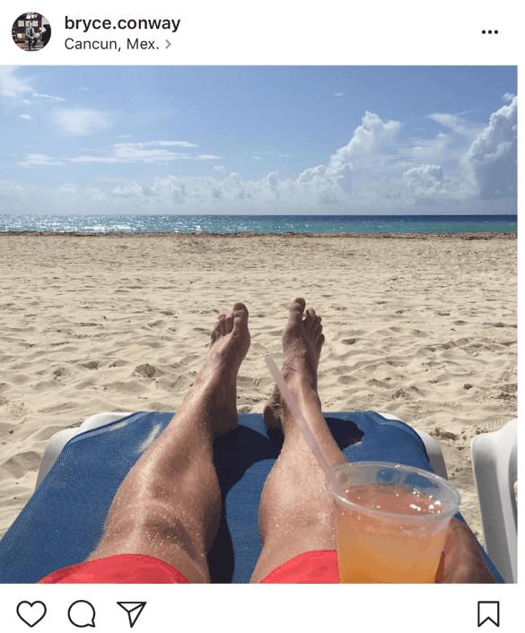 Bryce On Beach