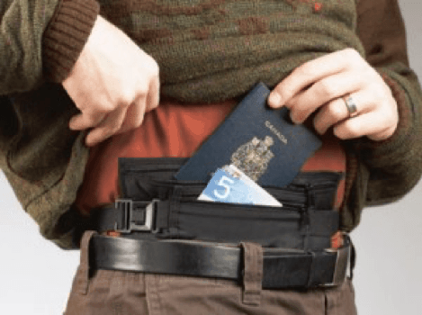 10xTravel Money belt