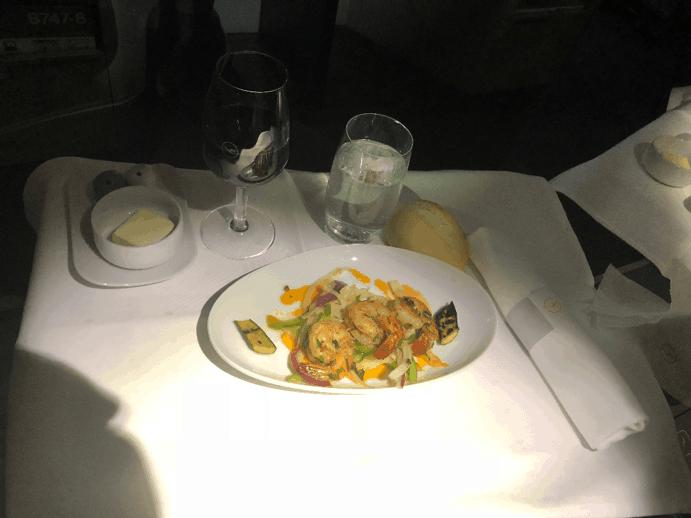 Lufthansa Business Class Appetizer 2