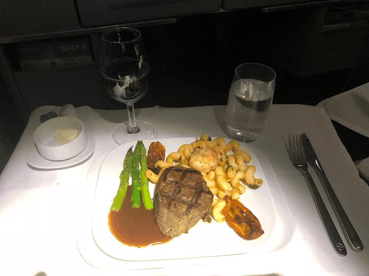 Lufthansa Business Class Beef 1