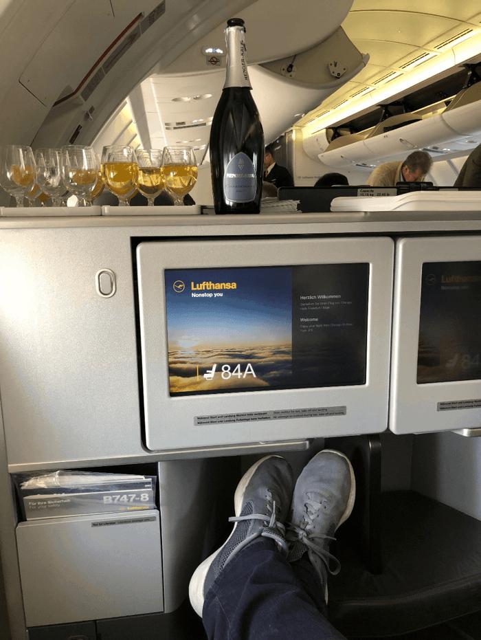 Lufthansa Business Class Foot Cubby 1