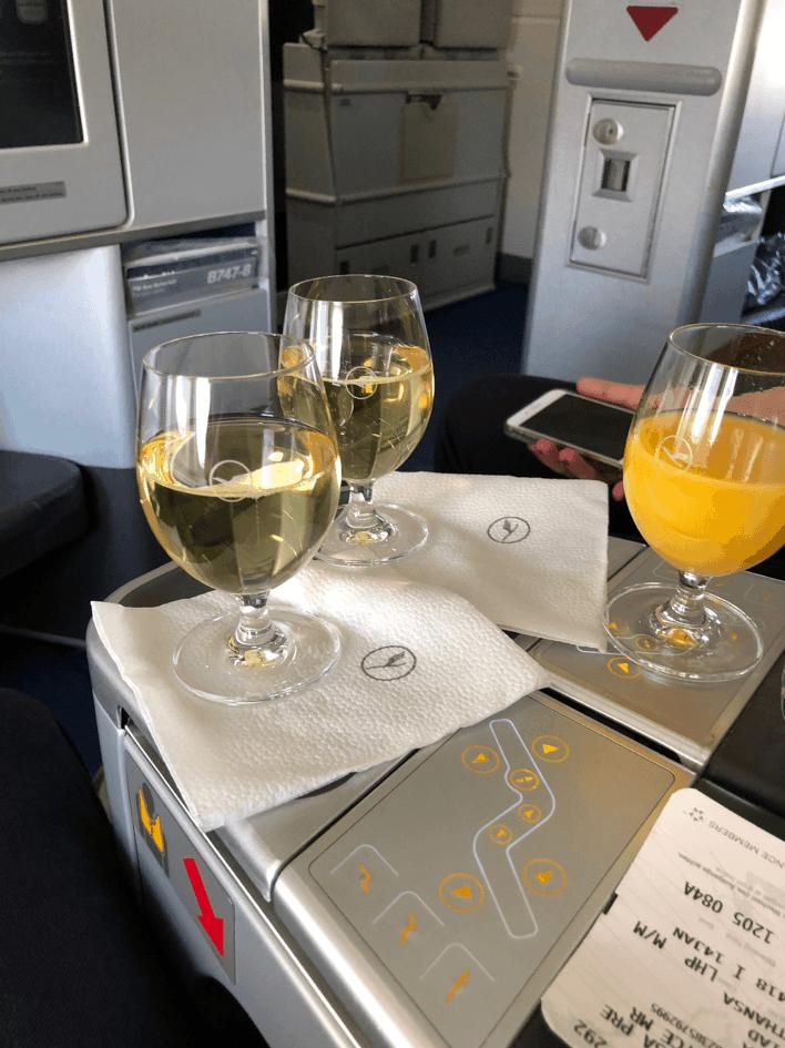 Lufthansa Business Class Seat Controls 1