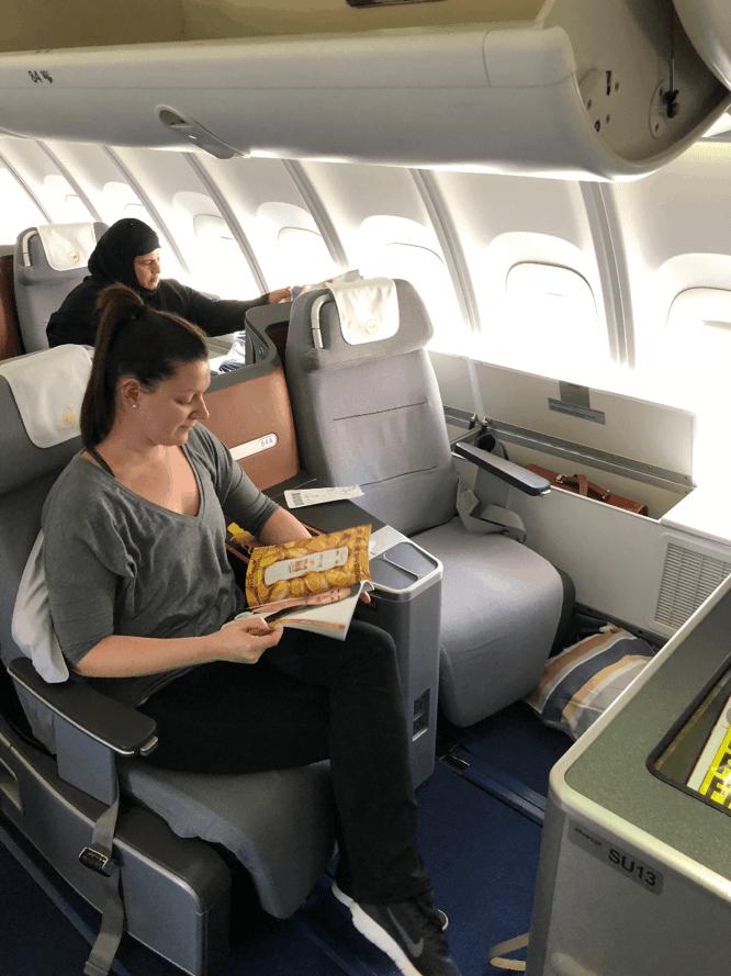 Lufthansa Business Class Seats Upper Deck 1