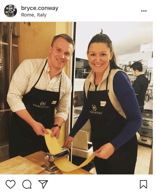 Making Pasta In Rome 2