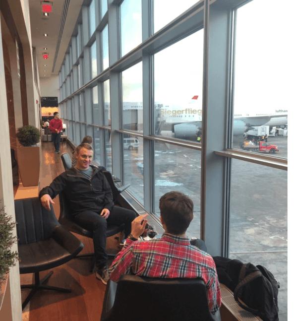 Turkish Airlines Lounge Washington Dulles 1