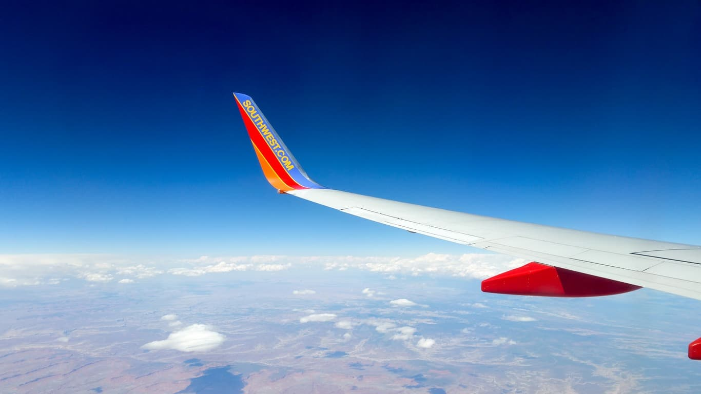 flying southwest airlines