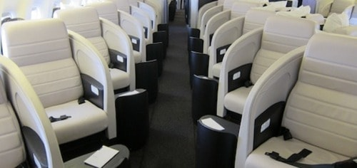australia new zealand points miles-air nz business class