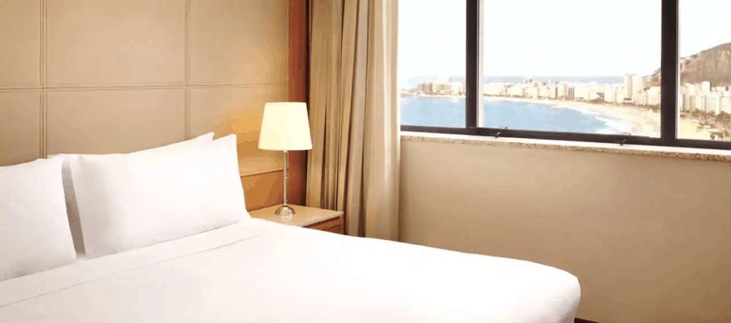 Travel to South America with the American Express Platinum and Hilton Aspire Credit Card | Hilton Rio De Janeiro Copacabana