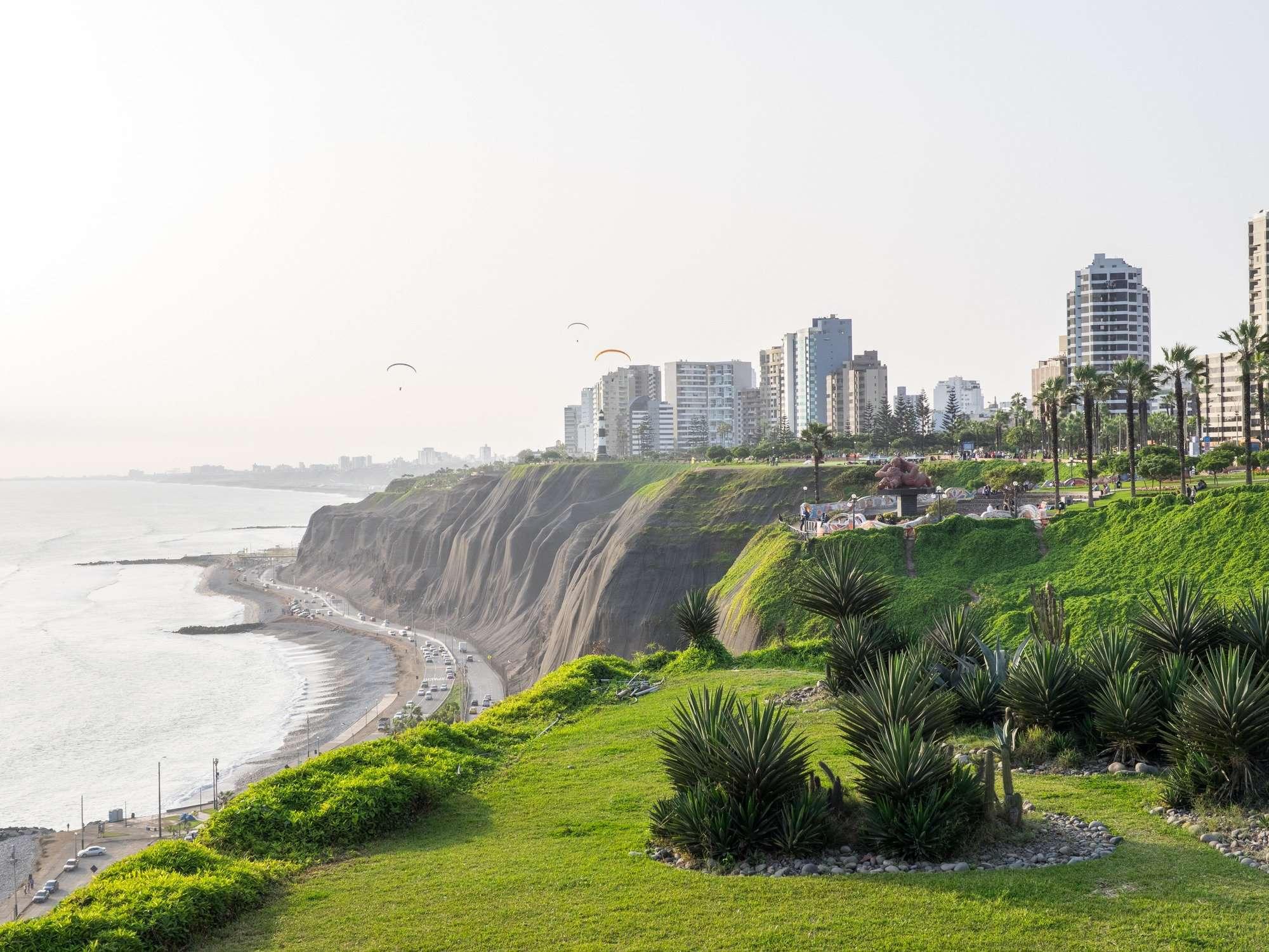 The Lima Coastline