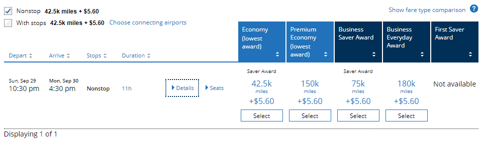 Using United MileagePlus Miles for Award Flights