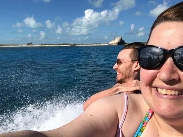 boat trip to Exuma island
