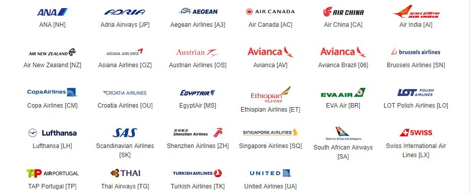 Star Alliance Carriers