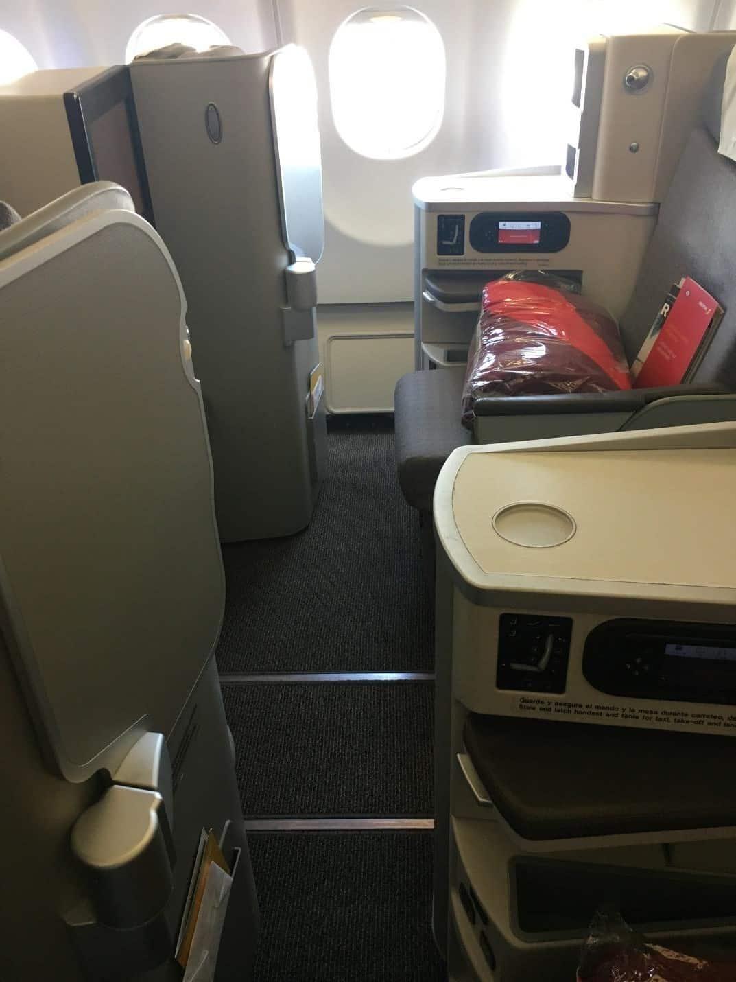 Iberia window seat