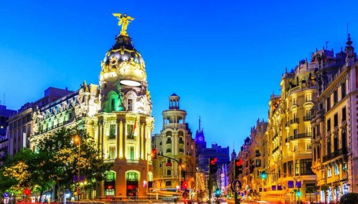 Madrid, Spain. Gran Via