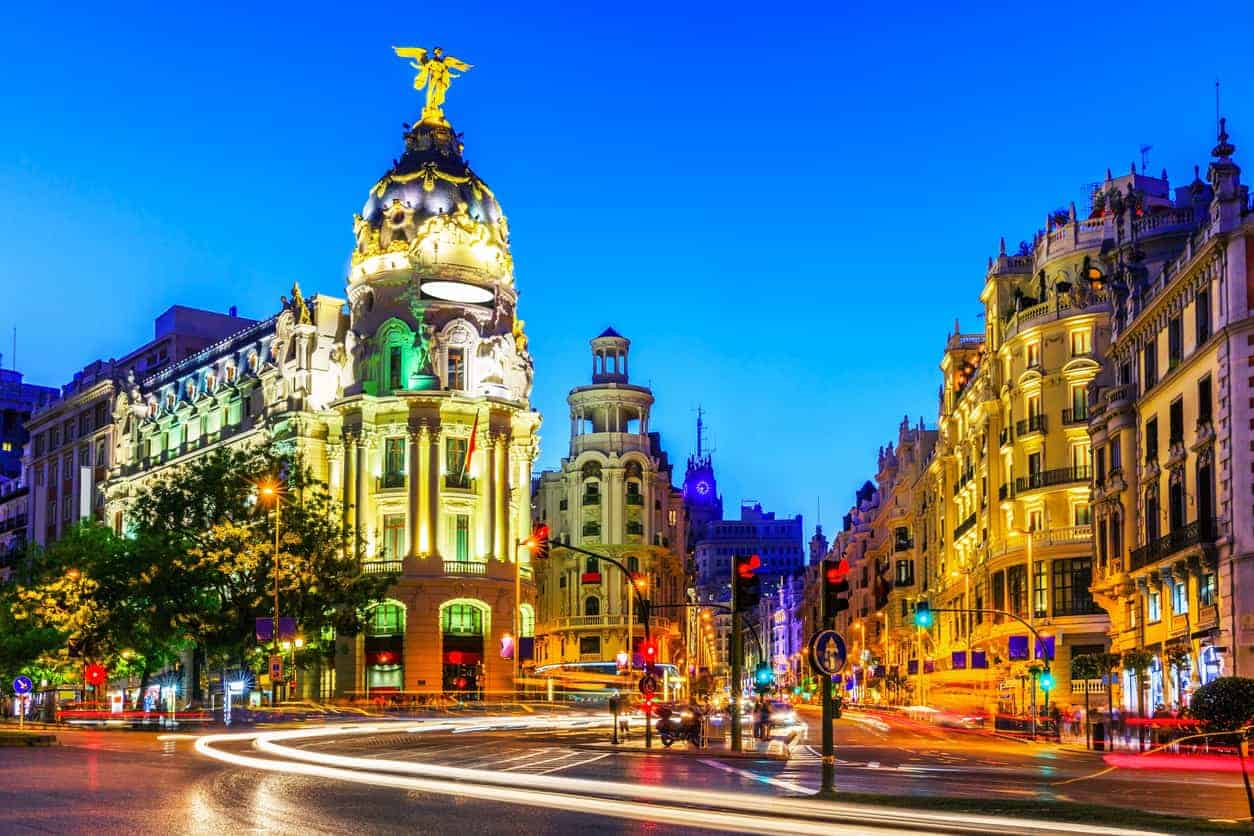 Madrid, Spain. Gran Via