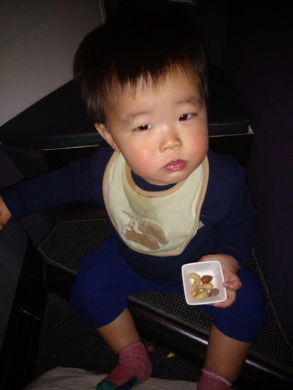 lap infant