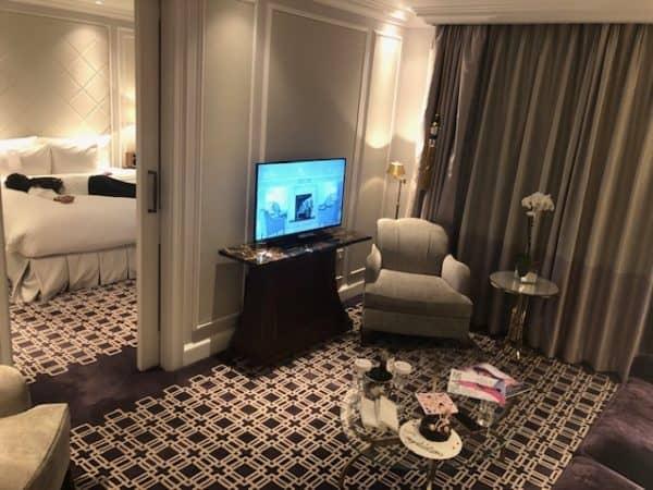 The London Marriott Park Lane Executive Suite