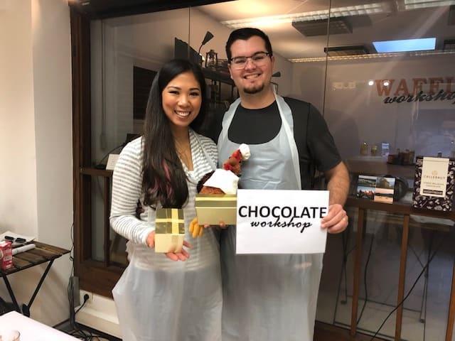 chocolate making seminar