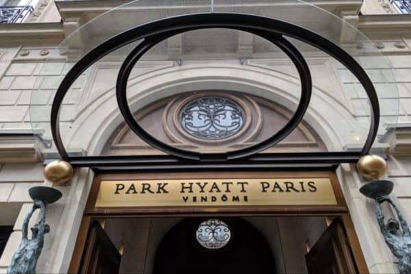 Booking the Park Hyatt Paris-Vendome with Points
