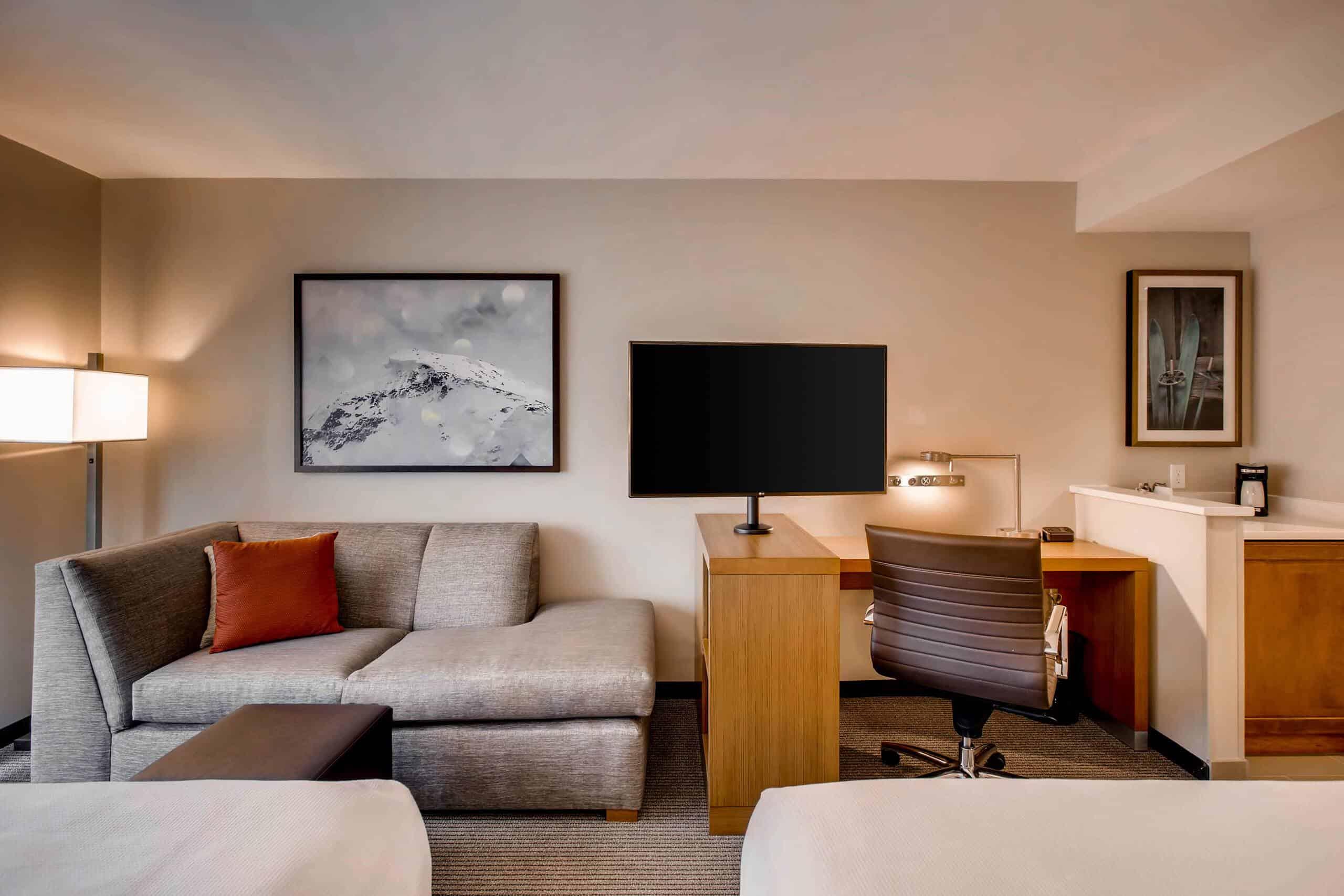 Hyatt Place Keystone - Double Bed Cozy Corner