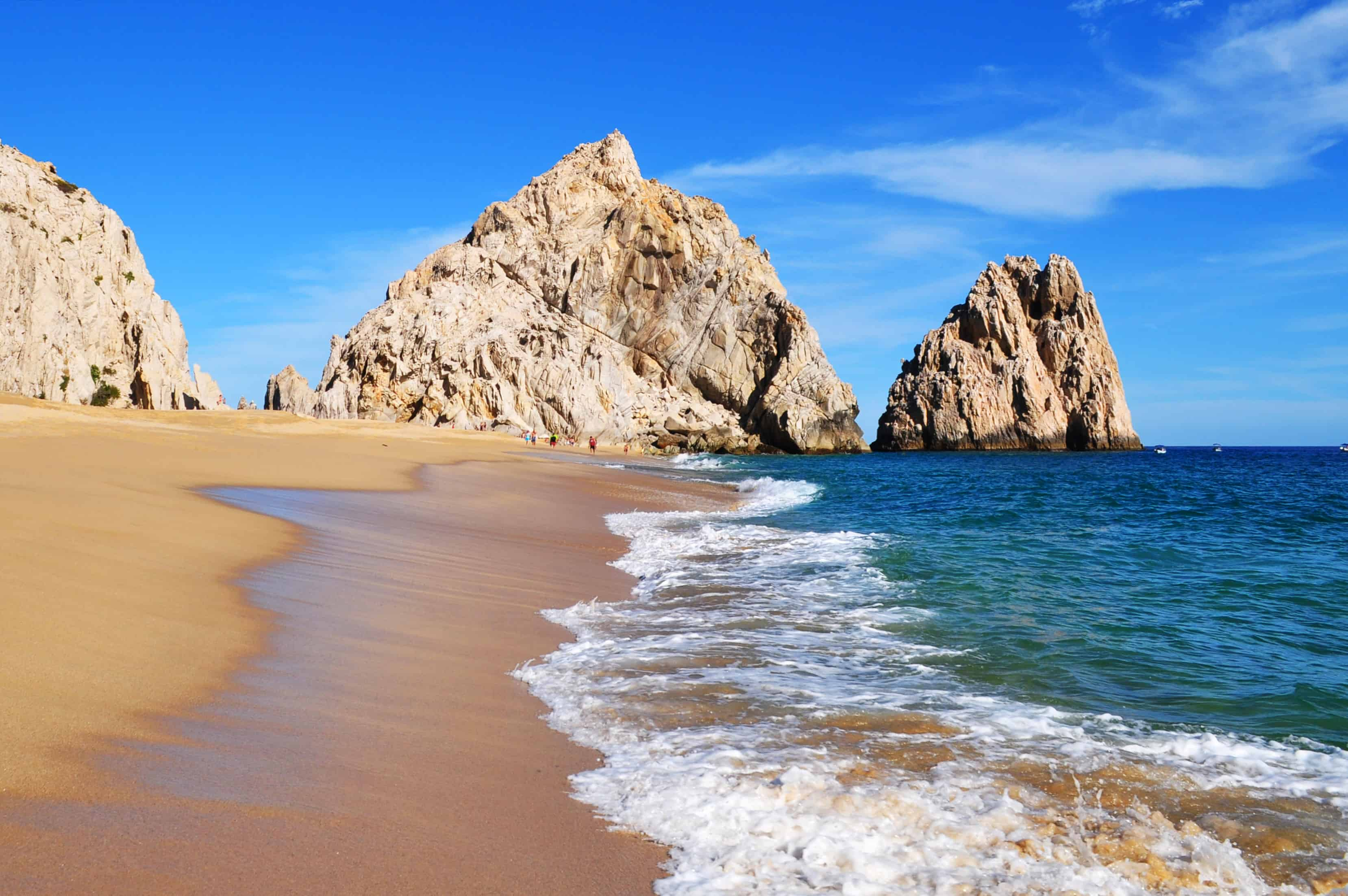 Playa del Amor or Lovers Beach, Cabo San Lucas, Baja California Sur, Mexico