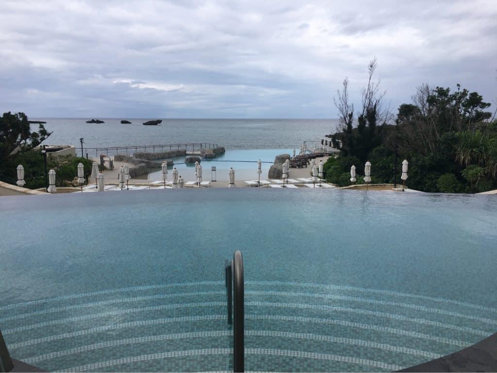 Main Pool and the Lagoon Pool - Hyatt Regency Seragaki Island Okinawa Japan Review
