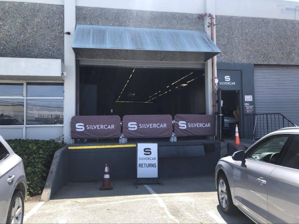 Silvercar return to warehouse