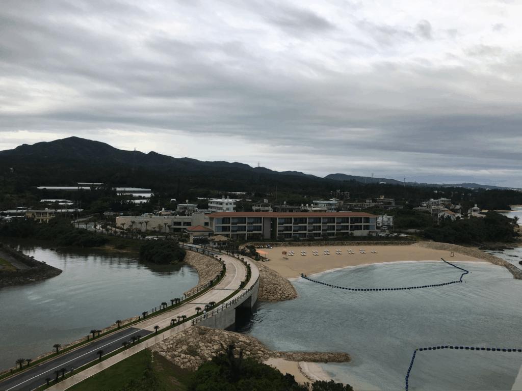 View from the Balcony - Hyatt Regency Seragaki Island, Okinawa, Japan Review