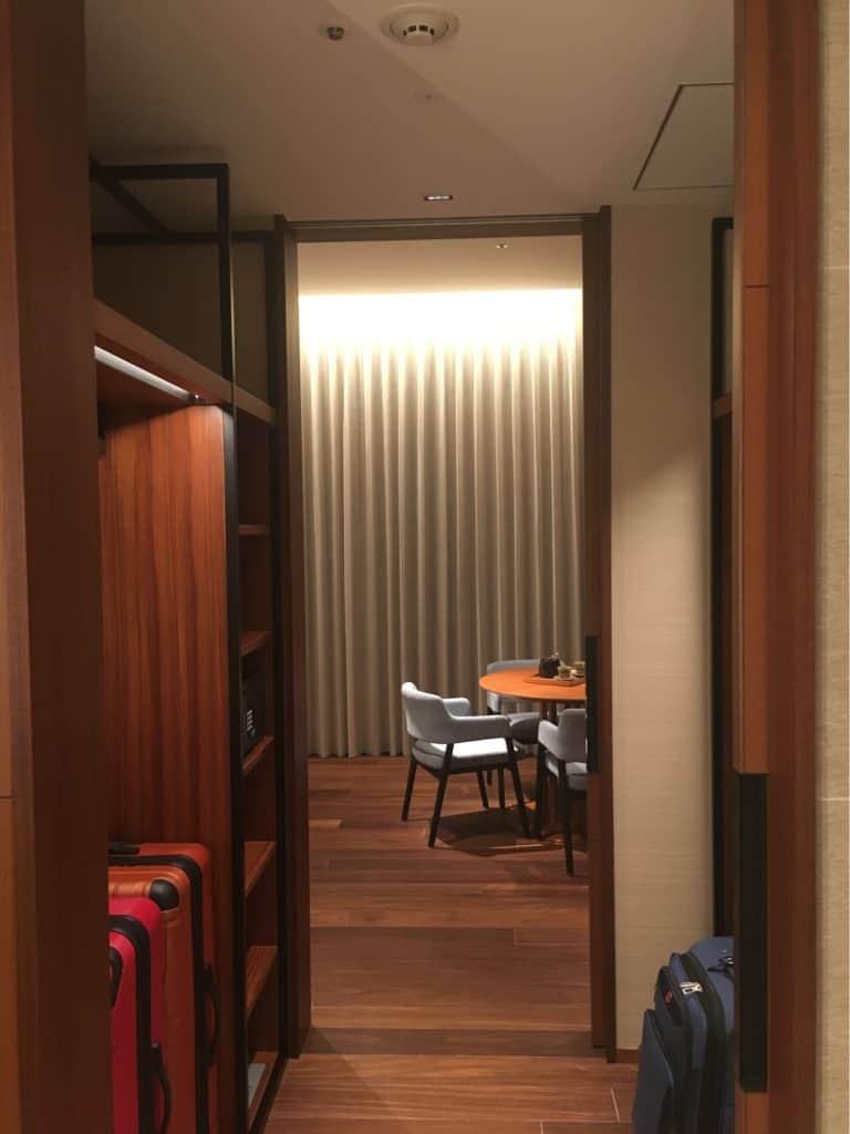 Walk Trough Closet - Hyatt Regency Seragaki Island, Okinawa, Japan Review