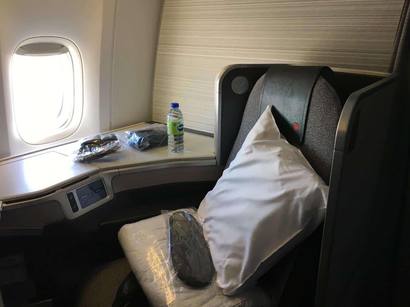 air canada business class toronto to tokyo