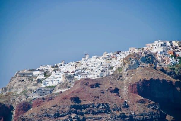 Classic Oia, Santorini shot