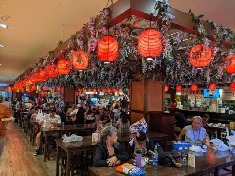 Shirokiya Japan Village Walk, an excellent Japanese food court