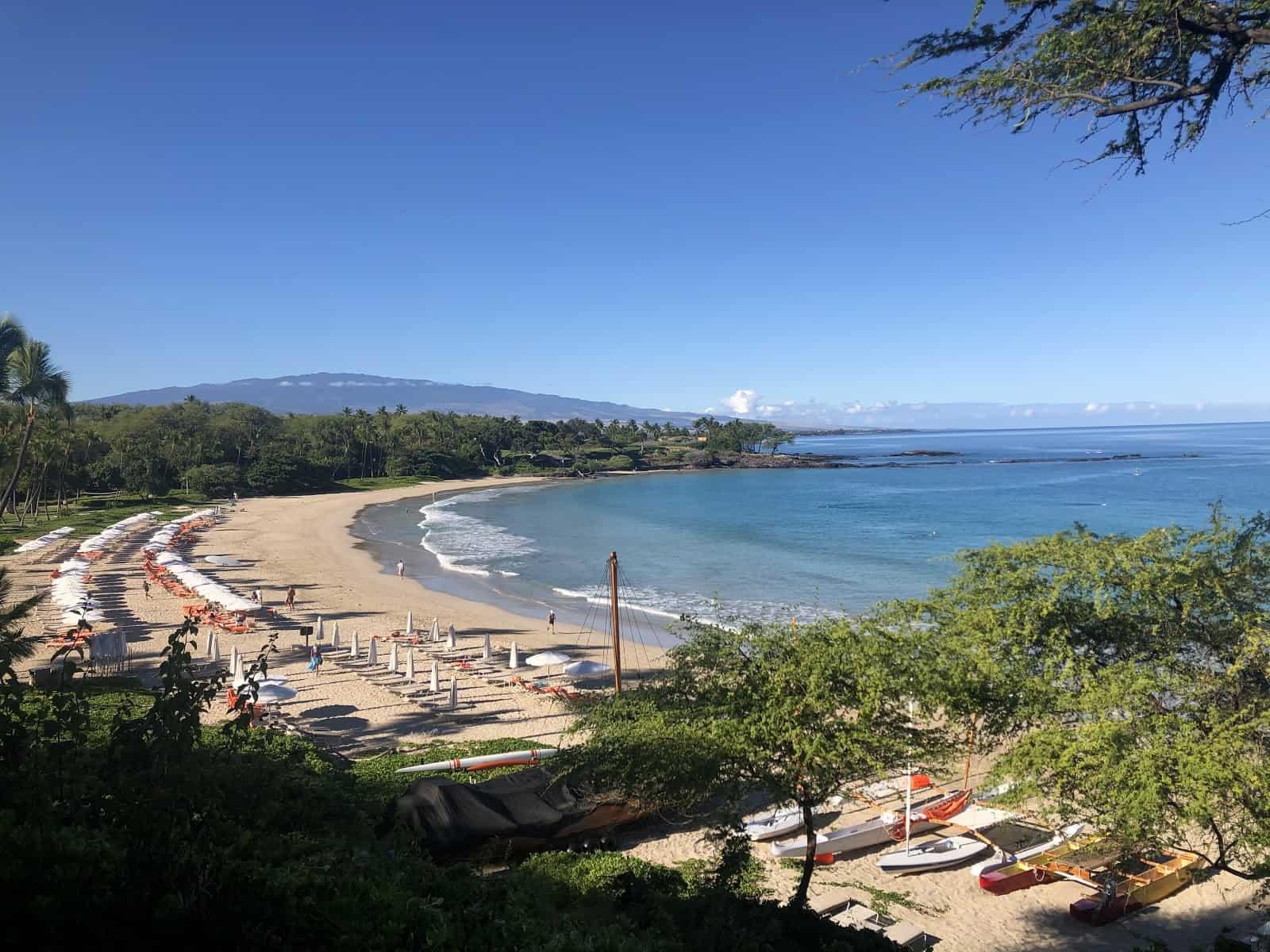 Mauna Kea Beach Hotel Dining View