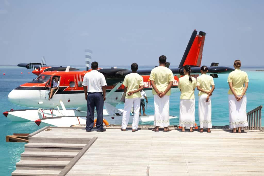 Maldivian air taxi service