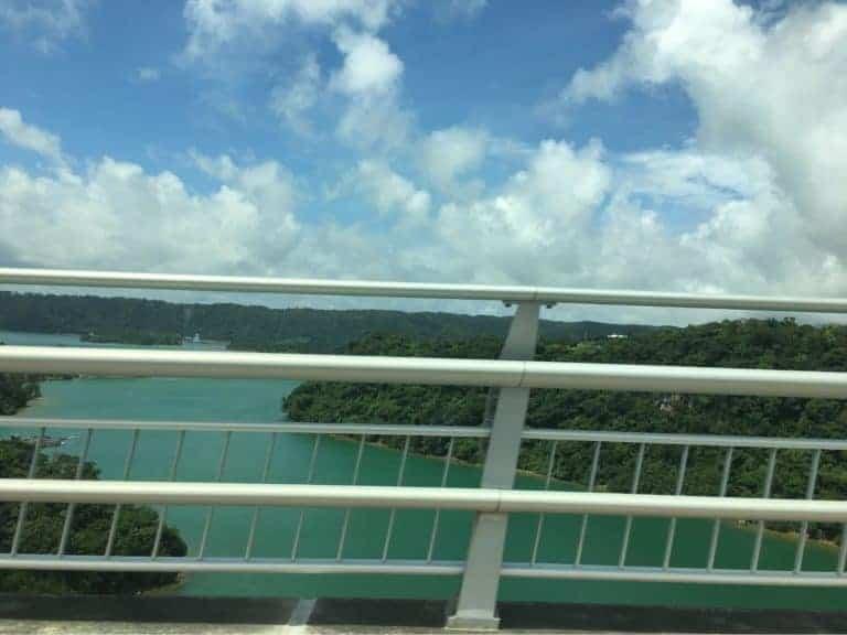 View from Kouri Island Bridge