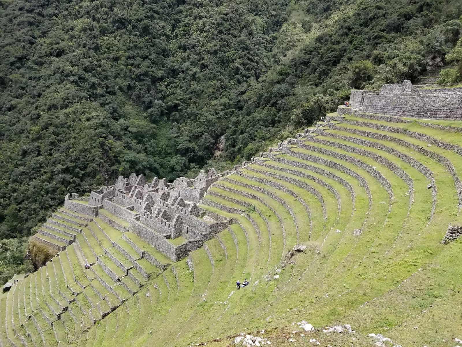 Wiñay Wayna, Inca ruins - Machu Picchu.