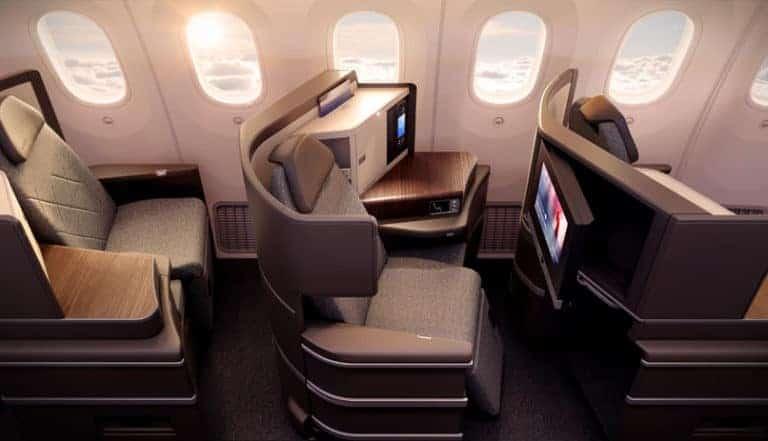 El Al Business Class Seat