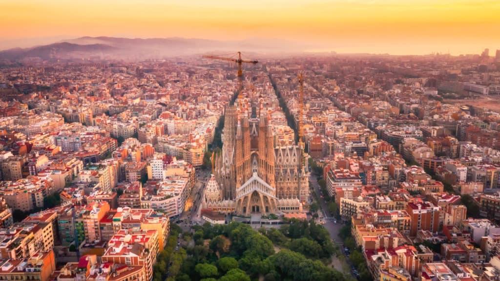 travel destinations-Sagrada Familia Barcelona Spain